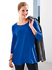 Anna Aura - Round neck top with 3/4-length sleeves