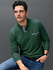 """Lacoste - Long-sleeved """"Form PH0118"""" polo shirt"""