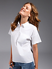 Looxent - Blouse with short sleeves