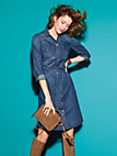 Looxent - Denim dress