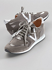 Looxent - Sneakers made of cowhide suede leather
