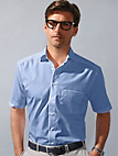 "Olymp Luxor - ""Modern Fit"" shirt with 1/2-length sleeves"