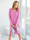 Peter Hahn - 100% cotton nightdress with a V neckline