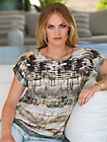 Peter Hahn - Blouse top in 100% cotton