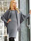 Peter Hahn Cashmere - Knitted dress in pure cashmere