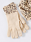 Peter Hahn Cashmere - Knitted gloves in 100% cashmere