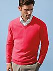 Peter Hahn Cashmere - V neck jumper in 100% cashmere