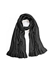 Peter Hahn - Knitted scarf in 100% cashmere