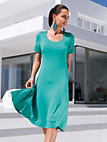 Peter Hahn - Leisure dress with 1/2-length sleeves
