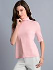 St. Emile - Roll-neck jumper in 100% new milled wool