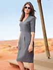 Windsor - Dress in 100% new milled wool