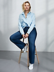 """zizzi - """"Nille Regular"""" jeans with straight legs"""
