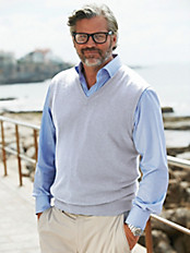 Peter Hahn - Tank top in 100% cashmere
