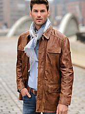 TRAPPER - Lamb nappa jacket
