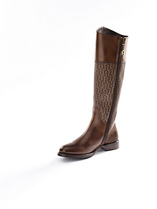 Aigner - Calfskin nappa boots with long shafts