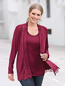 Anna Aura - Cardigan in a slightly longer cut.