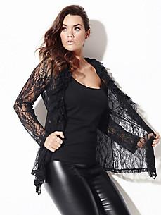 Anna Scholz for sheego - Feminine blouse jacket