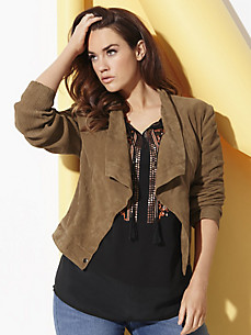 Anna Scholz for sheego - Leather jacket