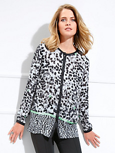 Basler - Long blouse in a fashionable design mix
