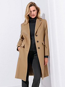 Basler - Wool coat in 100% new milled wool