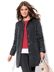 Bogner - Short coat in an egg-shaped silhouette