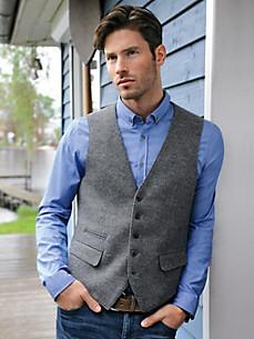 Bugatti - Milled wool waistcoat
