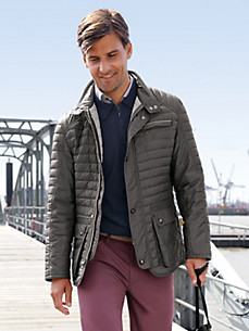 "Bugatti - Quilted jacket in an ""Outlast"" finish"
