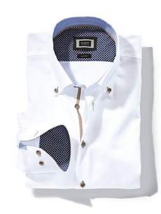 Bugatti - Shirt with a button-down collar