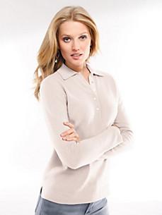 cashmere - Polo jumper 100% cashmere