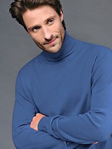 cashmere - Polo neck jumper