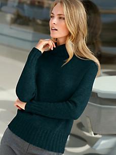 cashmere - Pure cashmere roll-neck pullover