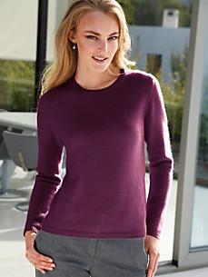 cashmere - Round neck pullover