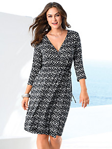 Emilia Lay - Jersey dress with 3/4-length sleeves