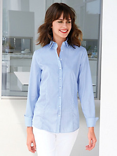 Eterna - Blouse in a shirt style