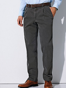 Eurex by Brax - Waist pleat jeans made from coloured denim