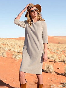 Fadenmeister Berlin - Dress in an egg shape with 3/4-length sleeves