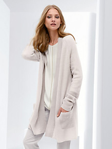 Fadenmeister Berlin - Long cardigan in 100% cashmere