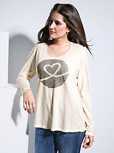 FRAPP - Round neck top