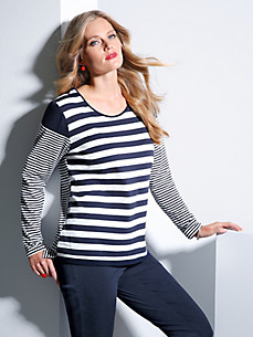 FRAPP - Striped top