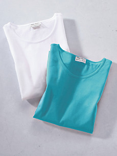 Green Cotton - Round Neck Shirt
