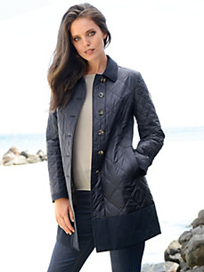 HABSBURG - Long quilted jacket