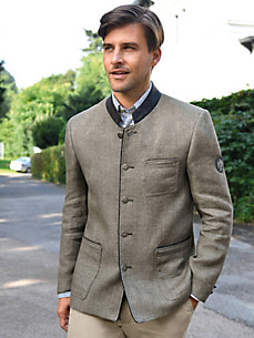 Hammerschmid - Country style jacket in 100% linen