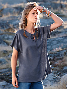 Inkadoro - Tunic top in 100% linen