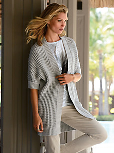 Laurèl - Cardigan with short sleeves