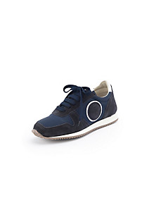 Ledoni - Calfskin suede trainers