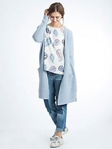 LIEBLINGSSTÜCK - Trendy long cardigan in bouclé yarn