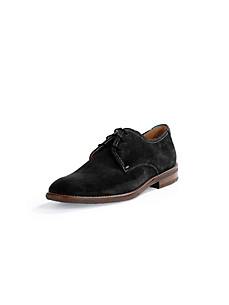 Lloyd - Velvety calfskin suede lace-ups