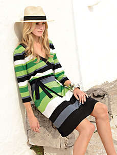 Looxent - Jersey dress 3/4-length sleeves