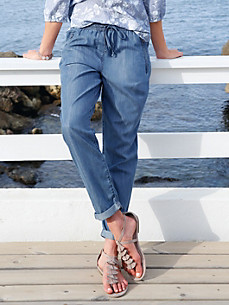 Peter Hahn - 7/8 length slip on trousers