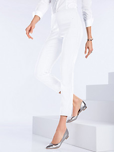 Peter Hahn - 7/8-length slip-on trousers